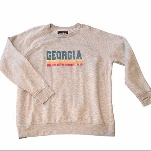 State of Mine Sweatshirt Georgia w thumbholes  XL